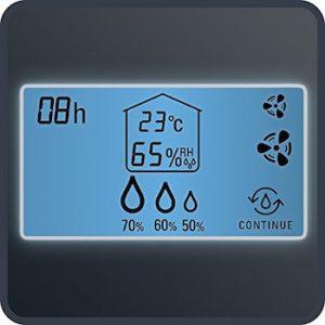 Deshumidificador Rowenta Intense Dry Control DH4130f0 panel control digital