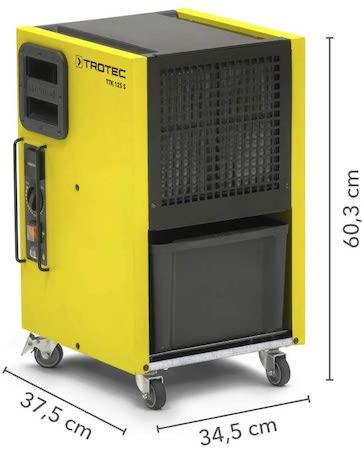 TROTEC Deshumidificador TTK 125 S